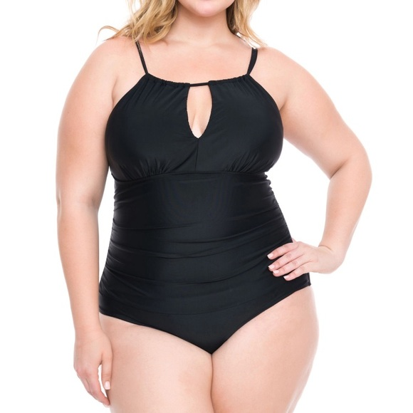 a0c708378 Boutique+ Jessica Milagros One Piece Swimsuit. NWT. jcpenney